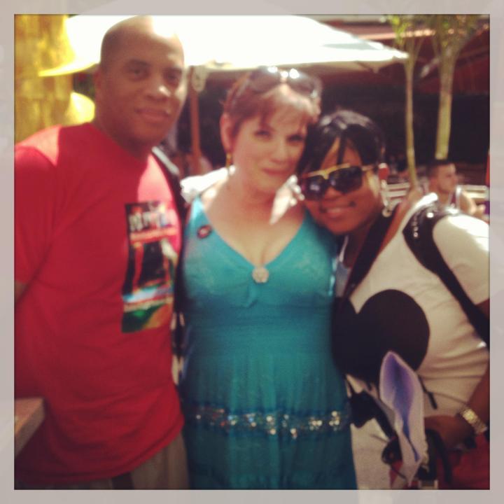 Hot rod and Zandy at SA Miami invasion