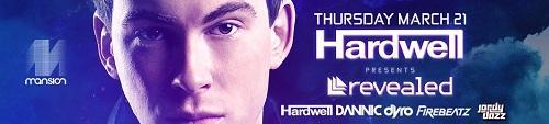 Hardwell Presents Revealed Miami with Dannic, Dyro, Firebeatz, and Jordy Dazz