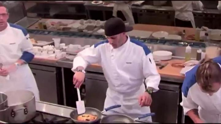 Chef Barret on Hell's Kitchen