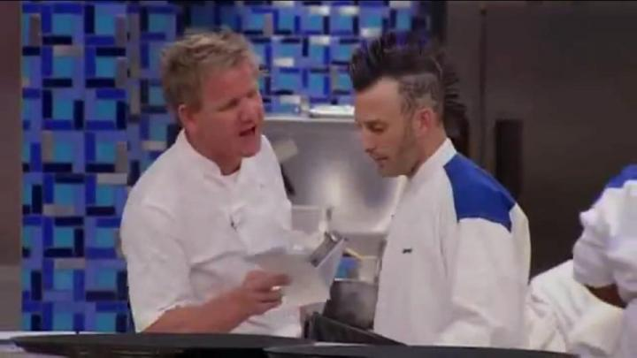 Gordon Ramsey goes in on DJ and Chef Barret Beyer