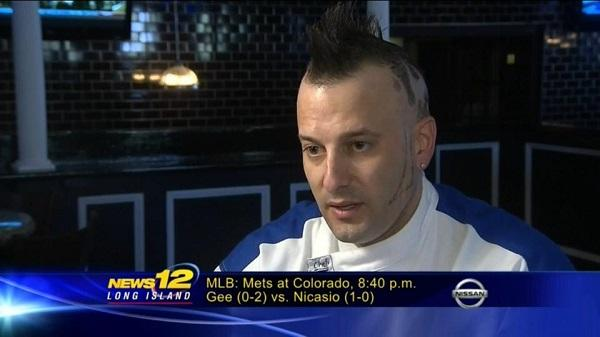 Chef Barret From Hell's Kitchen on the news