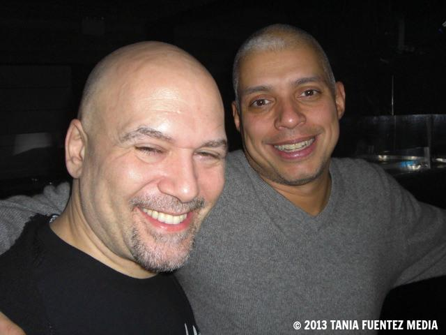 DJ DANNY KRIVIT (LEFT) AND CIELO MANAGER/PROMOTER BENNY SOTO