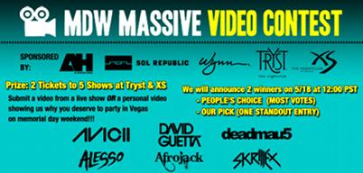 WANTICKETS MDW Massive Video Contest