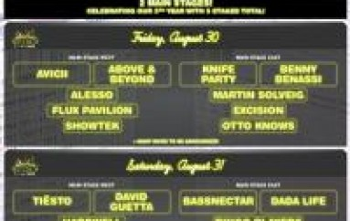 Electric Zoo Adds Second Main Stage PLUS Phase 1 Artist Lineup Announced!