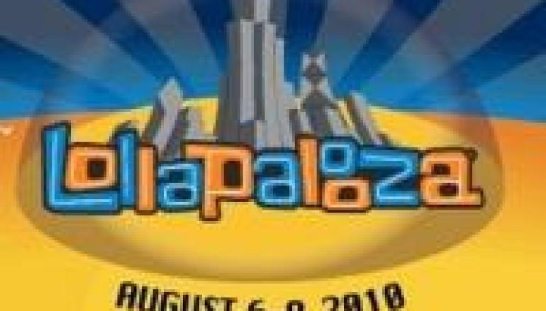 LOLLAPALOOZA MUSIC FESTIVAL ANNOUNCES 2010 LINEUP