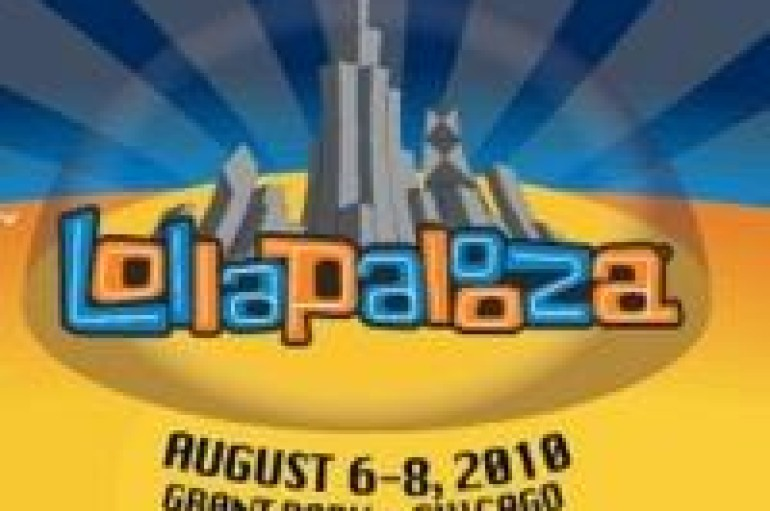LOLLAPALOOZA MUSIC FESTIVAL ANNOUNCES 2010 LINEUP