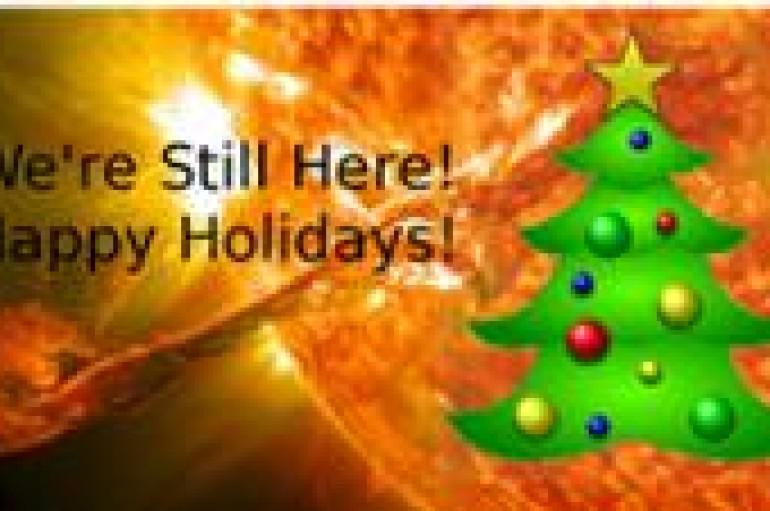 WEEKENDMIX 12.21.12: WE'RE STILL HERE HOLIDAY GIT DOWN