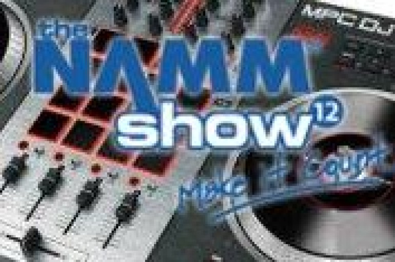 NAMM DAY 1: Numark Bursts Out of The Gate