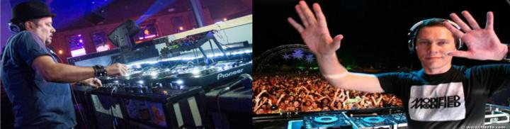 A DJ at work vs A DJ at play