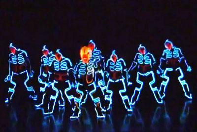 Awesome TRON Dance Is A Must See