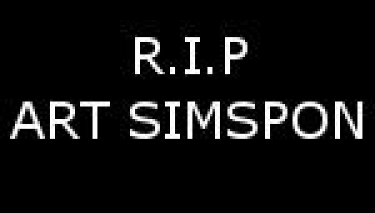 R.I.P ART SIMPSON – ONE OF OURS