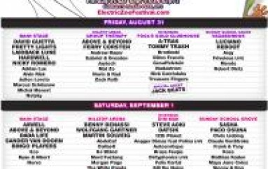 Electric Zoo 2012 Announces Set Times, Mobile App & More