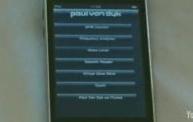 PAUL VAN DYK HAS AN IPOD APP IN HIS POCKET AND HE'LL BE HAPPY TO SHOW IT TO YOU