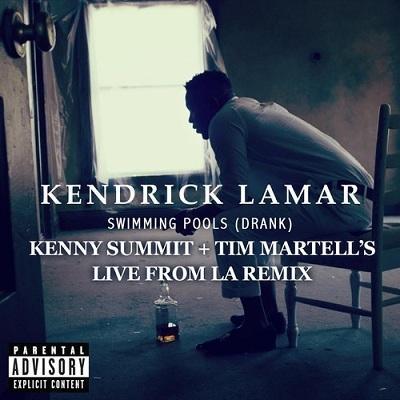 Kenny Summit & Tim Martello Remix Kendrick Lamar's Swimming Pools
