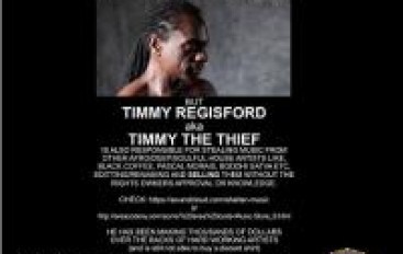 Timmy Regisford Accused of Stealing Music. Ugly Truth or Copyright Scare?